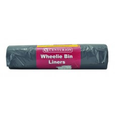"26"" x 45"" x 58"" 105 Gauge, 240 litre Wheelie Bin Liners (Pack of 6)"