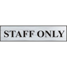 Staff only - BRS (220 x 60mm)