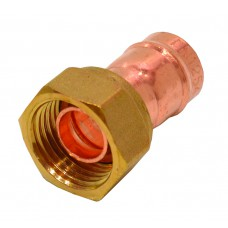"""15mm x 1/2"""" Solder Ring Copper Tap Connector"""