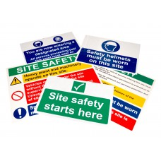 Construction Site Pack (5 signs)