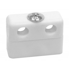 White Assembled Knock Down Fittings