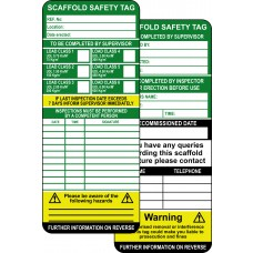 Scaffold Tag Kit (10 ClawTag holders, 20 inserts, 2 pens) Boxed