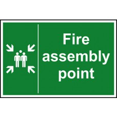 Fire assembly point - DIB (300 x 200mm)