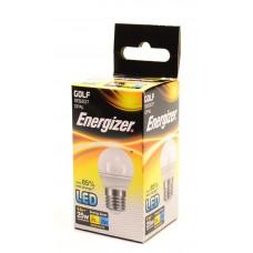 Energizer - LED Bulb - Golf 3.5W 250LM Opal E27 Warm White