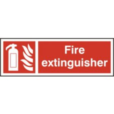 Fire extinguisher - RPVC (300 x 100mm)