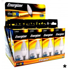 Energizer - LED Bulb - Candle 6W 470LM Opal E14 Warm White