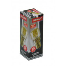 Eveready - 15 Watt SES 300 Heat Resistant Oven Lamp Bulb