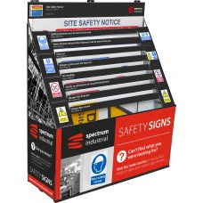 General Purpose Jumbo Sign Waterfall with Site Safety Notice Included