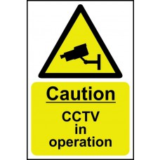 Caution CCTV in operation - SAV (200 x 300mm)