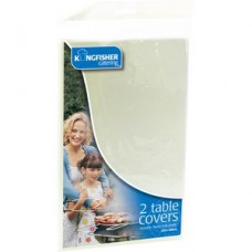 White Table Covers 2pk