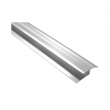 900mm Silver Finish Round Edge