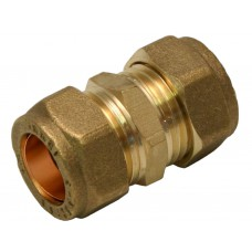 15mm Compression Straight Coupling