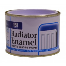 180ml Radiator Enamel White Gloss Paint (DGN)