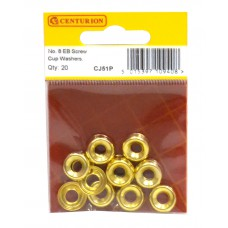 No 8 EB Screw Cup Washers (Pack of 20)