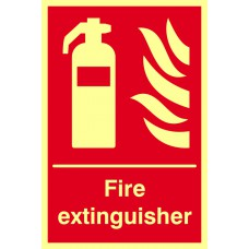 Fire extinguisher - PHS (200 x 300mm)