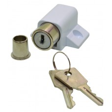 45mm x 35mm White Patio Door/Window Lock