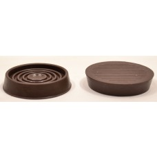 45mm Rubber Castor Cups 4pk