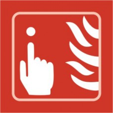 Fire alarm graphic - Taktyle (150 x 150mm)