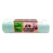 Compostable Caddy Liner - 10 Litre (24 Roll)