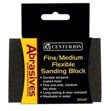 Fine/Medium Flexible Sanding Block