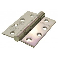 "102 x 76mm (4 x 3"") 2BB PSS G13 Stainless Steel Butt Hinges"
