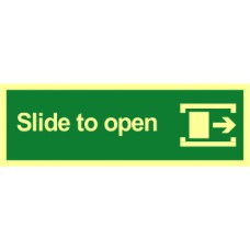 Slide to open (right) - PHO (300 x 100mm)