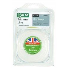 SL001 ALM 1.3mm x 30m White Trimmer Line
