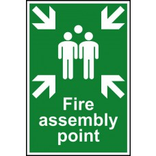Fire assembly point - PVC (200 x 300mm)