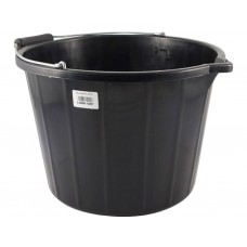 15 Litre Black Builders Bucket
