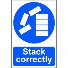 Stack correctly - PVC (200 x 300mm)