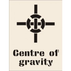 Centre of Gravity Stencil (400 x 600mm)
