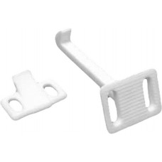 60mm White Plastic Kiddiguard Catch