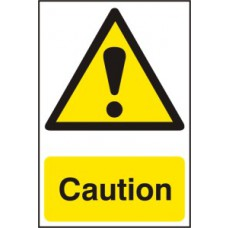 Caution - PVC (200 x 300mm)