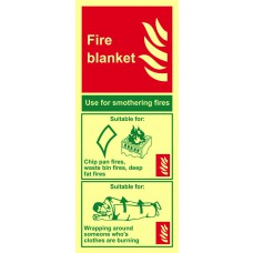 Fire blanket - PHS (202 x 82mm)