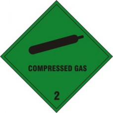 Compressed gas Class 2 - SAV (100 x 100mm)