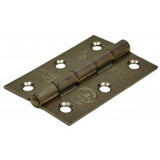 75mm SNP Steel Butt Hinges CE Fire Rated 1pr