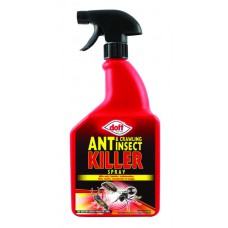 Doff - Ant & Crawling Insect Killer Spray - 1 Litre (DGN)