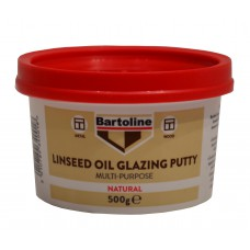 Bartoline 1/2kg Tub Multi Purpose Linseed Oil Putty