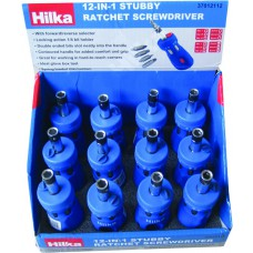 Hilka12pc 12 in 1 Stby Ratchet S/D Counter Box (37012112)