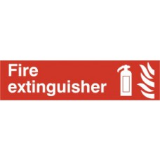Fire extinguisher - PVC (200 x 50mm)