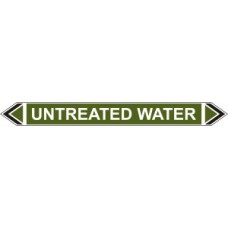Flow Marker - Untreated Water (Green - 5 pack)