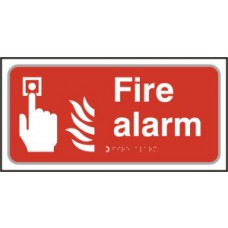 Fire alarm - Taktyle (300 x 150mm)