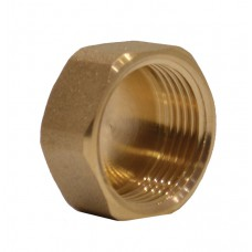 "3/4"" Brass Washing Machine Blanking Cap"