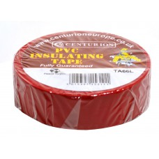 19mm x 20m Red PVC Tape