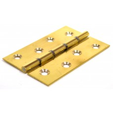 "4"" x 2 5/8"" x 2.4mm PB Contract Butt Hinges DSW Polished (1 pair)"