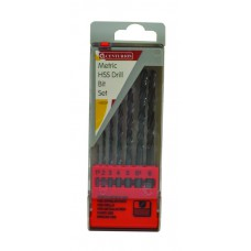 *TEMP OUT OF STOCK* 7 Piece Metric HSS Twist Drill Set