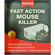 Rentokil - Fast Action Mouse Killer (Twin pack) - PSF135 (DGN)