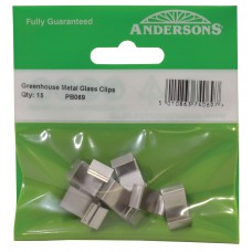 12mm x 9mm Pre-Formed Lap Z Clips (Pack of 15)