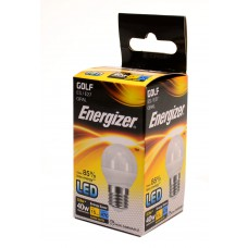 Energizer - LED Bulb - Golf 6W 470LM Opal E27 Warm White