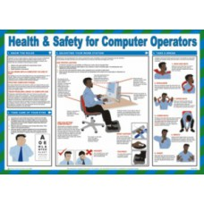 Safety Poster - Health & Safety for Computer Operators